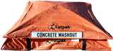 Concrete Washout Box - Outpak 4'x4' All Weather - Portable