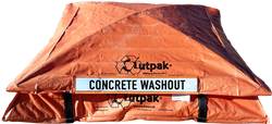 Concrete Washout Box - Outpak 6'x6' All Weather - Portable