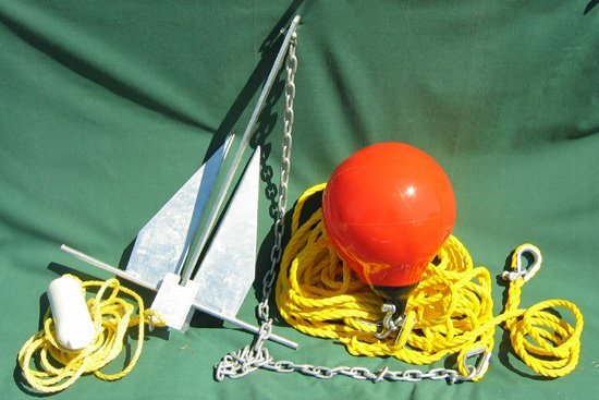 Anchor Kit for Floating Turbidity Barriers