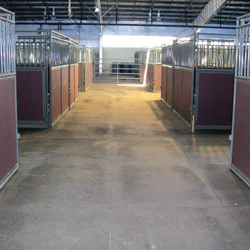 Horse Stall Mats - 10' x 10' Stall Kit - Interlocking