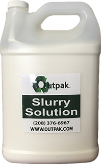 Outpak Slurry Solution Solidifier (4) 7 lb Bottles