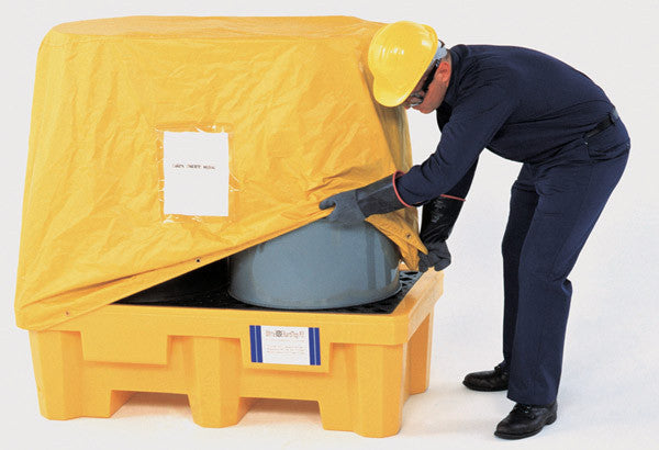 Ultratech pull over cover for P2 spill pallet