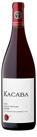 Single Vineyard Syrah 2010