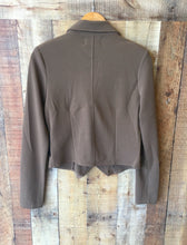 Mocha Zip Up Jacket