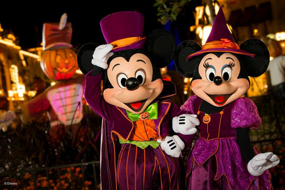 Ticket's for Mickey's Halloween & Christmas Parties WDW 2017 on Sale Now!