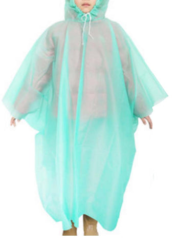 Disposable Rain Ponchos For Children
