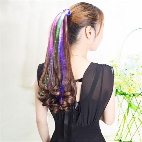 Glow In The Dark Hair Extensions