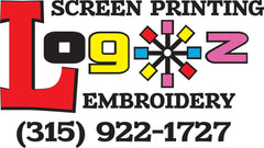 Logoz Custom T Shirts - We have been in business 18 years providing local business, schools, local musicians, and more with high quality printed goods. We custom screen print or embroider t shirts, hoodies, jackets, pens, hats, banners, signs and more.