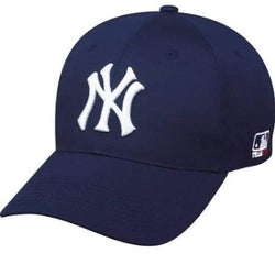 New York Yankees ADULT Adjustable Hat MLB Officially Licensed Major League Baseball Replica Ball Cap - Logoz Custom T Shirts