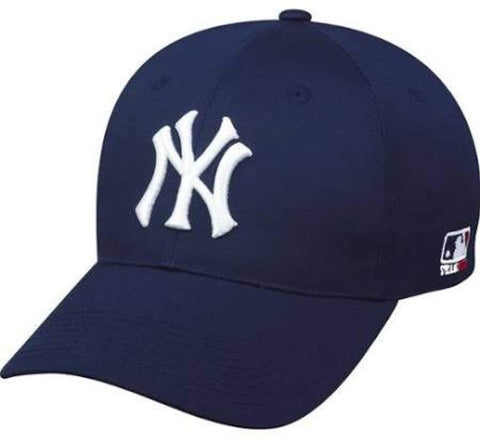 af3264bf687bf New York Yankees ADULT Adjustable Hat MLB Officially Licensed Major League  Baseball Replica Ball Cap