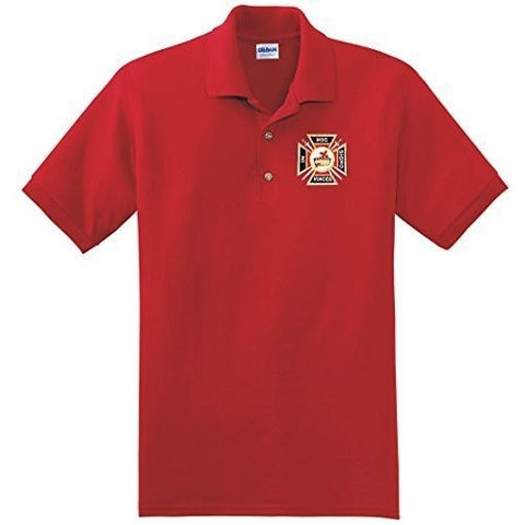 Knights Templar Polo Golf Shirt - Logoz Custom T Shirts
