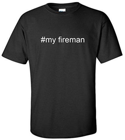 Hashtag #my fireman Men's T-Shirt - Logoz Custom T Shirts