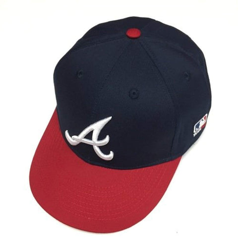 329b7e39253 ... Atlanta Braves Adult MLB Licensed Replica Cap Hat - Logoz Custom T  Shirts