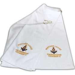 Mason Golf Towel Freemason Masonic - Logoz Custom T Shirts