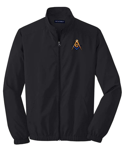 Logoz USA Mason Blue Lodge Masonic Jacket Custom Lodge Info - Logoz Custom T Shirts
