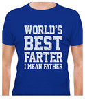 Funny Christmas Gift For Dads - World's Best Farter, I Mean Father T-Shirt - Logoz Custom T Shirts