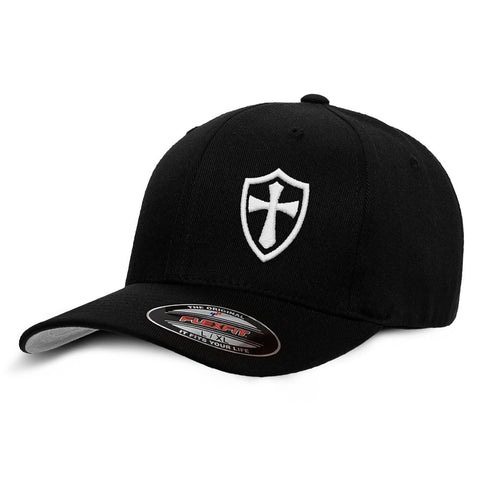 Crusader Knights Templar Cross Baseball Hat - Logoz Custom T Shirts