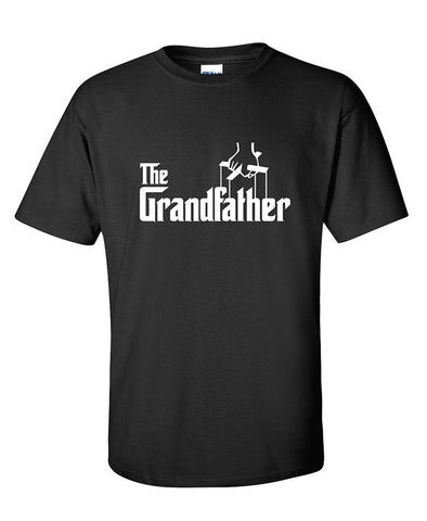 Grandfather Fathers Day Gift Grandpa Movie Graphic Novelty Funny T Shirt - Logoz Custom T Shirts