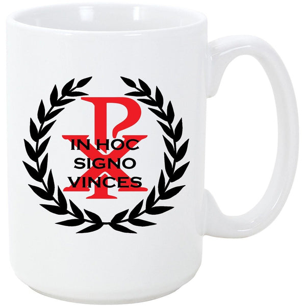 Logoz USA - In Hoc Signo Vinces Chi Rho T Shirt Knights Templar Coffee Mug - Logoz Custom T Shirts