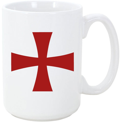 Logoz USA - Knights Templar Malta Coffee Cup - Logoz Custom T Shirts