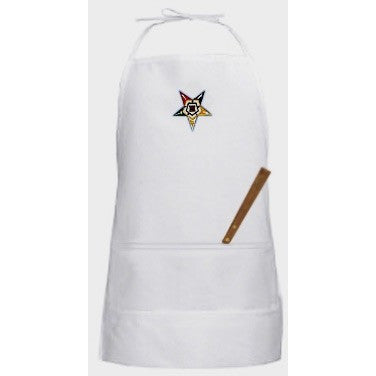 Order of Eastern Star Apron [Kitchen] - Logoz Custom T Shirts