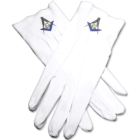 Mason Blue Lodge Gloves - Logoz Custom T Shirts