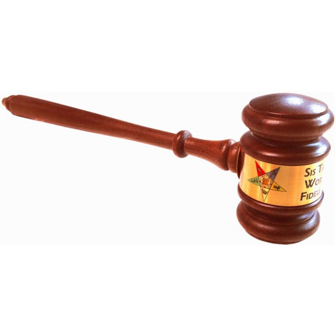 Order of the Eastern Star Gavel OES Custom Gavel - Logoz Custom T Shirts