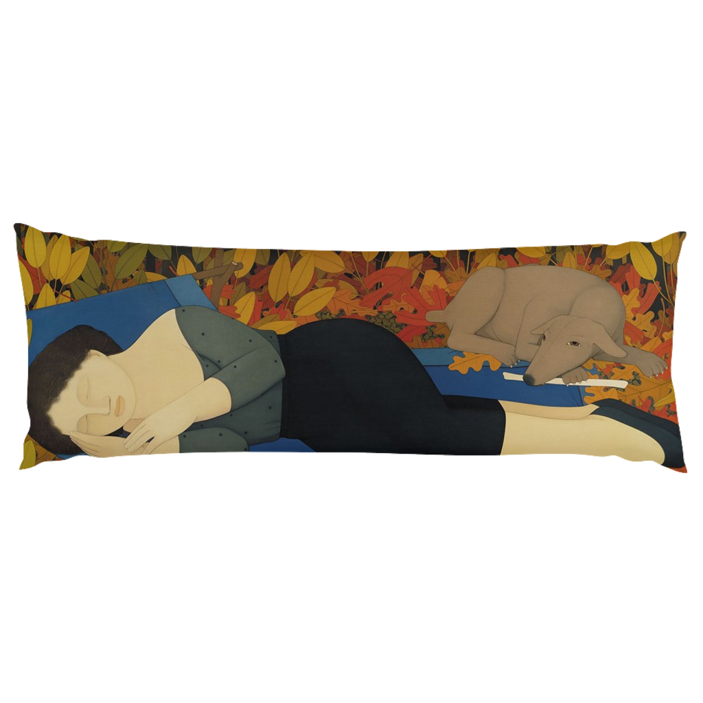 Muse 1: The Lounging Queen Body Pillow