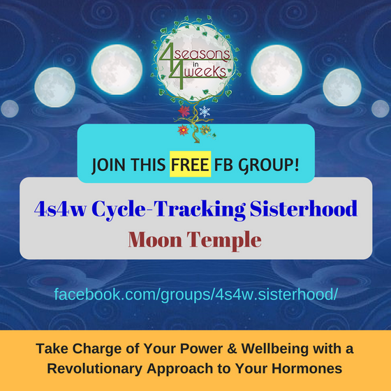 Free FB Group: 4s4w Cycle-Tracking Sisterhood