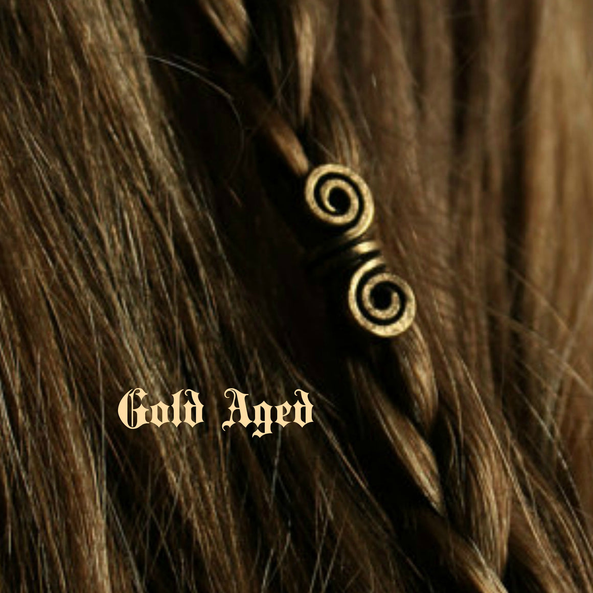 Spiral Viking Beads- Small