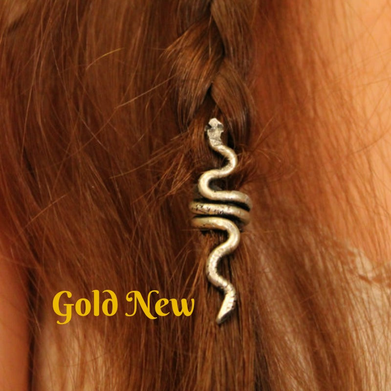 Snake Hair Bead - Small