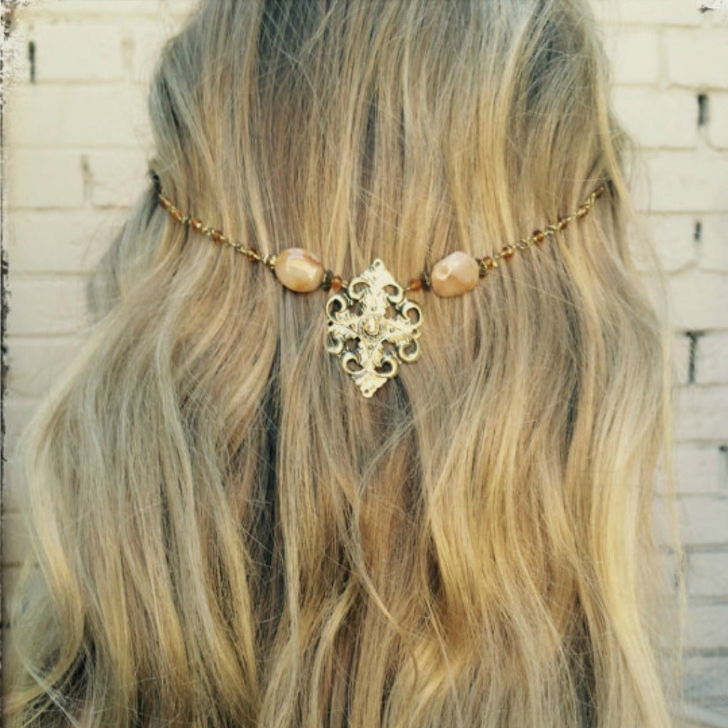 Tribal Hair Garland, Head Chain