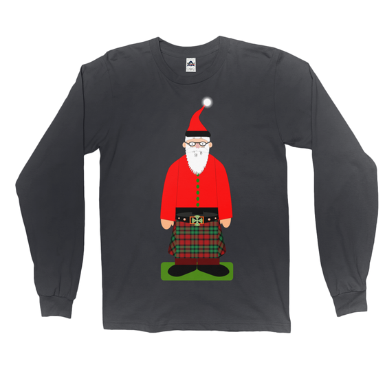 "Highlander ""Santa Dude"" Long Sleeve T-Shirt"