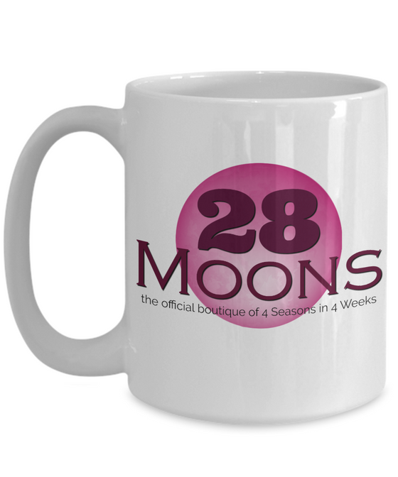 """28 Moons"" 15 oz Ceramic Gift Mug"