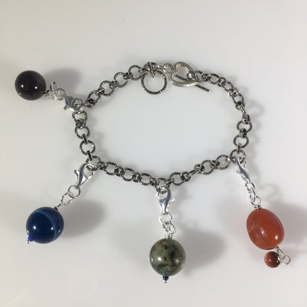 Gemstone 4s4w Weekly Cycle-Tracking Bracelet
