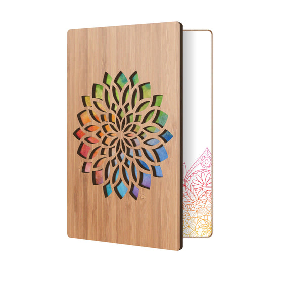 Abstract Flower Floral Card