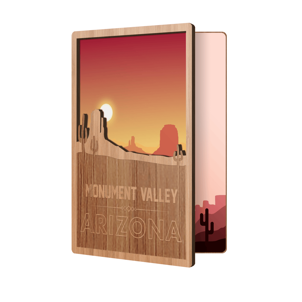 AZ Monument Valley State Souvenir Card