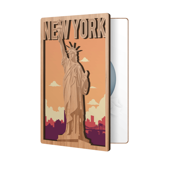 Statue of Liberty State Souvenir Card