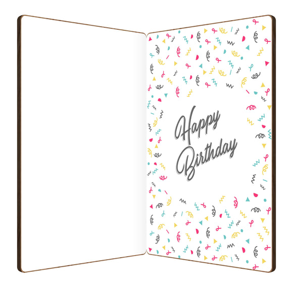 Sprinkled Cupcake Birthday Card
