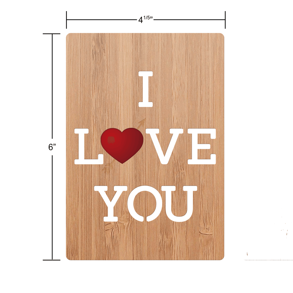 I Love You Love Card