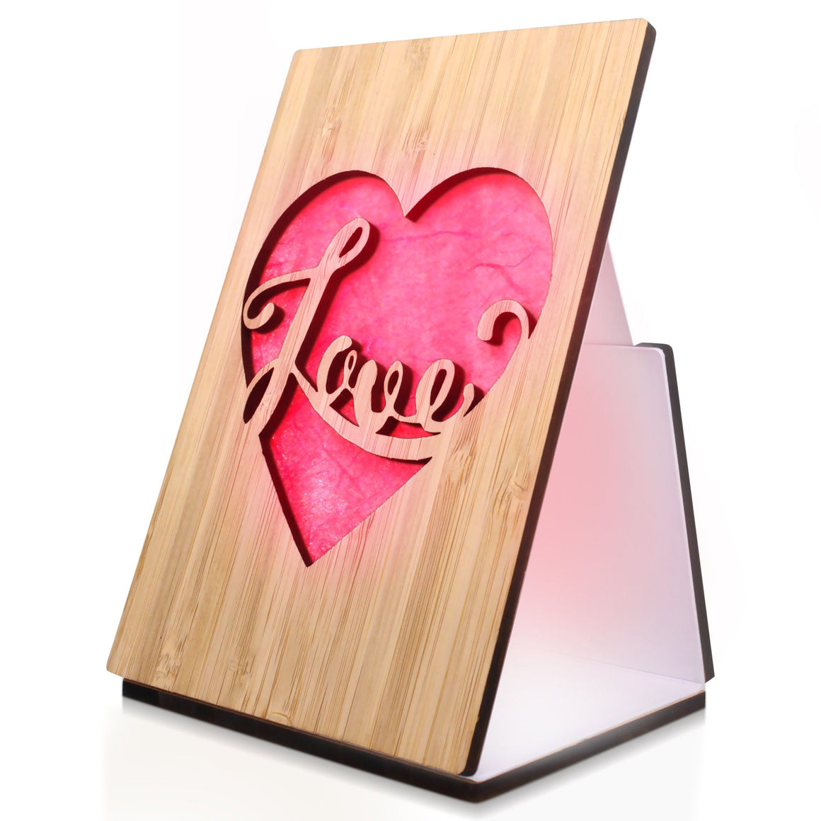Heart Love Light Up Love Card