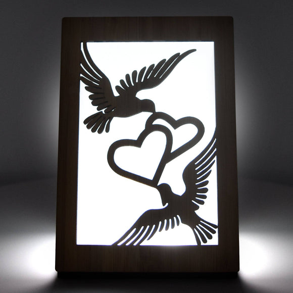 Love Doves Light Up Love Card