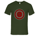 Circle Logo Od Green T Shirt - Red Republic Tactical