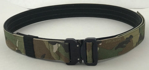 Multicam EDC Belt with 1.5 inch Cobra buckle - Red Republic Tactical