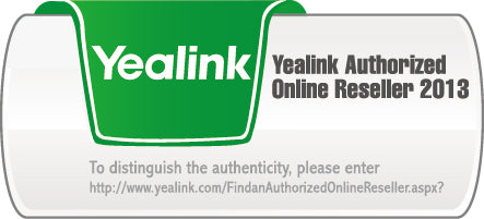 Yealink Authorized provider logo
