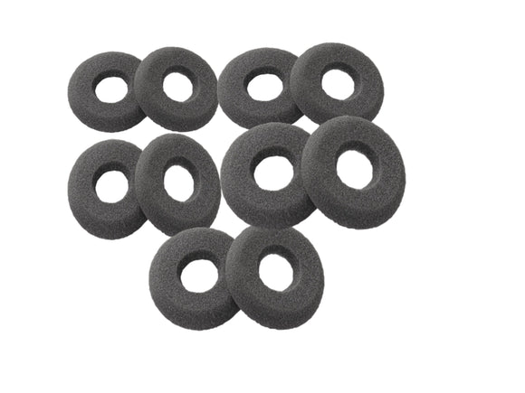 For Plantronics 40709-02 SupraPlus Foam Ear Cushions 10 Qty