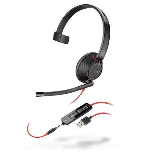 Plantronics 207577-01 BLACKWIRE C5210 Headset