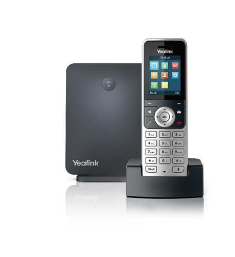 Yealink W53P IP DECT Phone bundle W53H with W60 base
