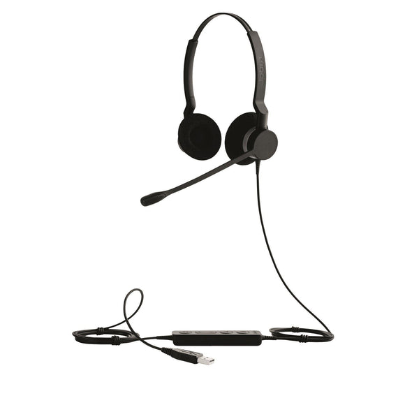 Jabra BIZ2300 2399-829-109 DUO USB Headset