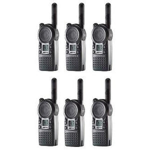 Motorola CLS1410 Two Way Radios 6 Qty